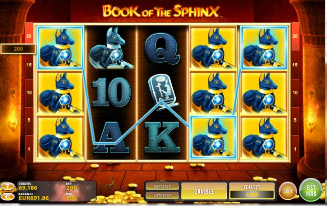 Book of the Sphinx jetzt im Casino Club