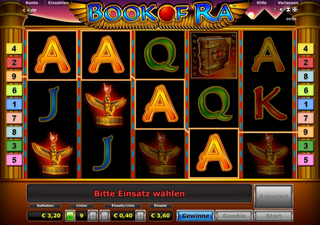 test online casino spielautomat book of ra
