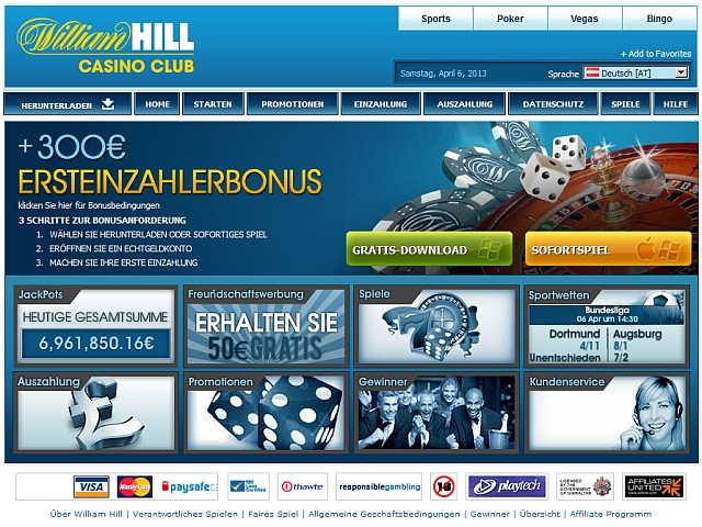 online william hill casino kostenlös spielen