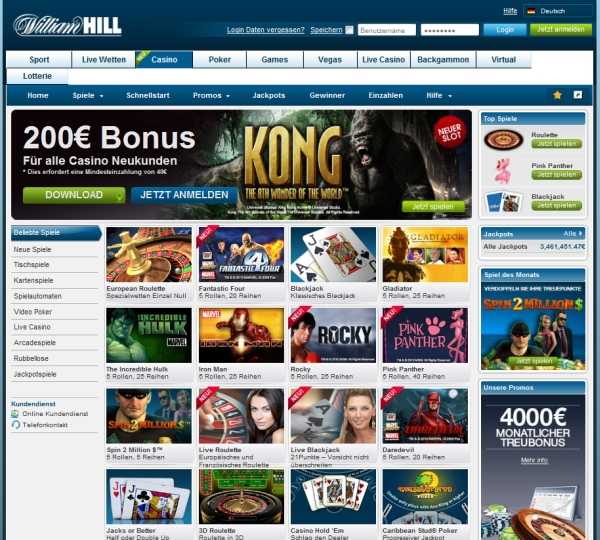 williamhill club