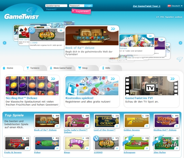 casino spiele online games twist login