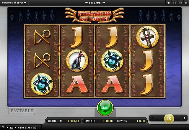 Pyramids of Egypt Slot