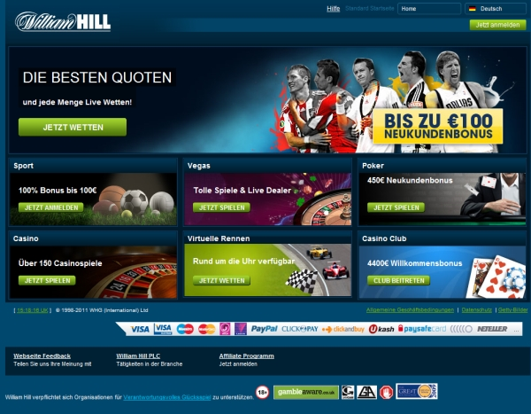 williamhill wettbüro