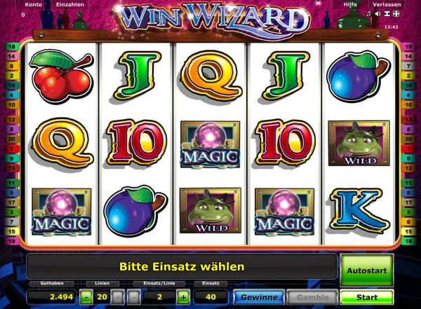 grand casino online wizards win
